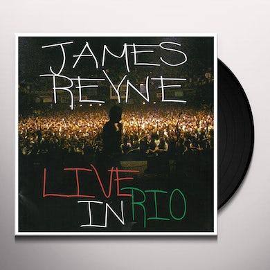 James Reyne LIVE IN RIO Vinyl Record