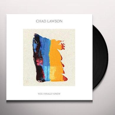 You Finally Knew (LP) Vinyl Record