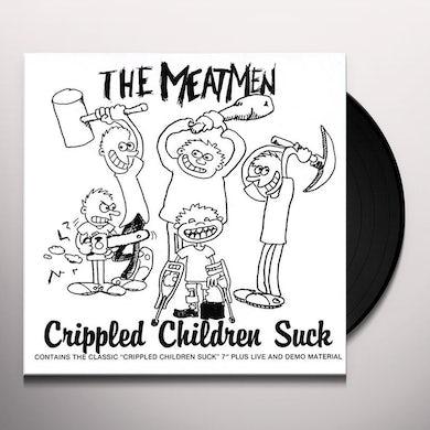 The Meatmen CRIPPLED CHILDREN SUCK Vinyl Record