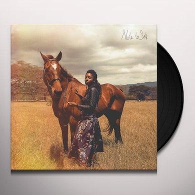 Jah9 NOTE TO SELF Vinyl Record