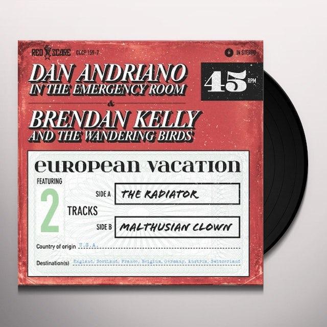 Brendan Kelly / Dan Andriano EUROPEAN VACATION Vinyl Record