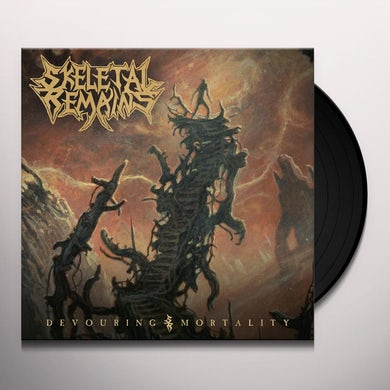Skeletal Remains DEVOURING MORTALITY Vinyl Record