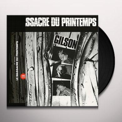Jef Gilson LE MASSACRE DU PRINTEMPS Vinyl Record