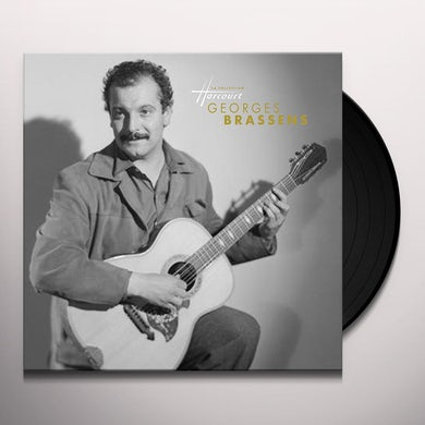 Georges Brassens LA COLLECTION HARCOURT Vinyl Record