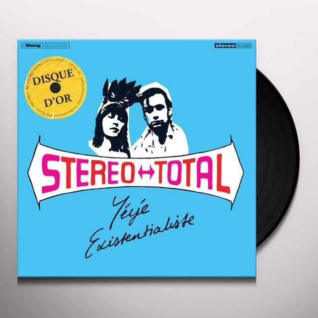 Stereo Total YEYE EXISTENTIALISTE Vinyl Record