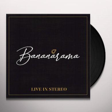 Bananarama LIVE IN STEREO Vinyl Record