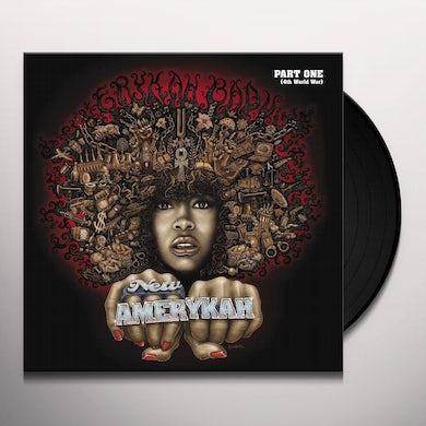 Erykah Badu New Amerykah Part One (4th World War) (2 LP) Vinyl Record