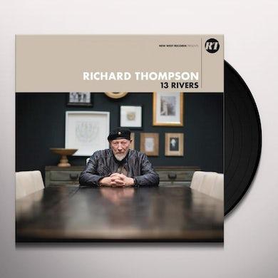 Richard Thompson 13 RIVERS Vinyl Record