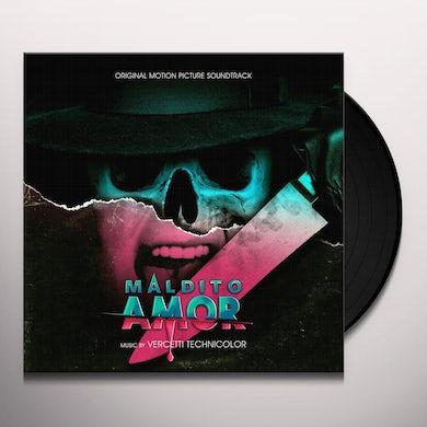 Vercetti Technicolor MALDITO AMOR (ORIGINAL SOUNDTRACK) Vinyl Record