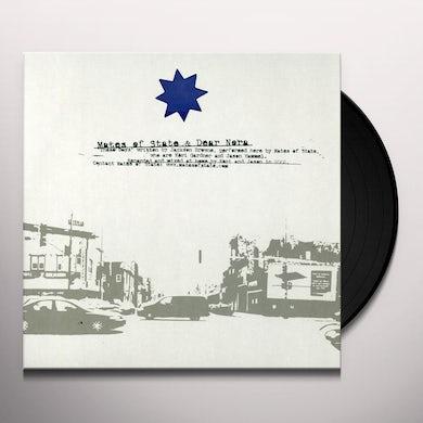 Mates Of State DEAR NORA SPLIT (Vinyl)