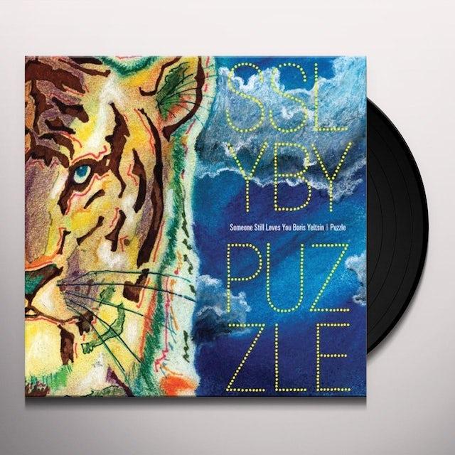 Someone Still Loves You Boris Yeltsin / Puzzle SPLIT Vinyl Record
