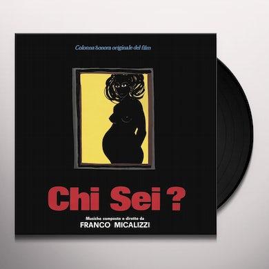 Franco Micalizzi CHI SEI? / Original Soundtrack Vinyl Record