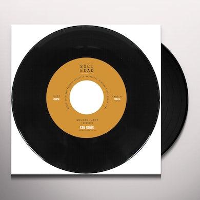 San Simon GOLDEN LADY / C'EST LA VIE Vinyl Record