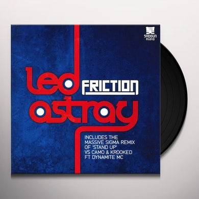 Friction ASTRAY/STAND UP (SIGMA REMIX) Vinyl Record