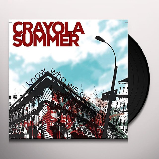 Crayola Summer I KNOW WHO WE ARE Vinyl Record