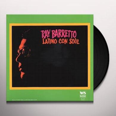 Ray Barretto LATINO CON SOUL Vinyl Record