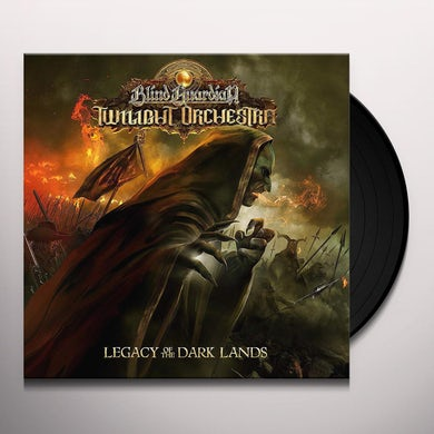 Blind Guardian Twilight Orchestra LEGACY OF THE DARK LANDS Vinyl Record