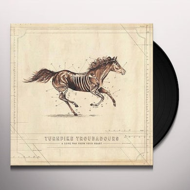 Turnpike Troubadours LONG WAY FROM YOUR HEART Vinyl Record
