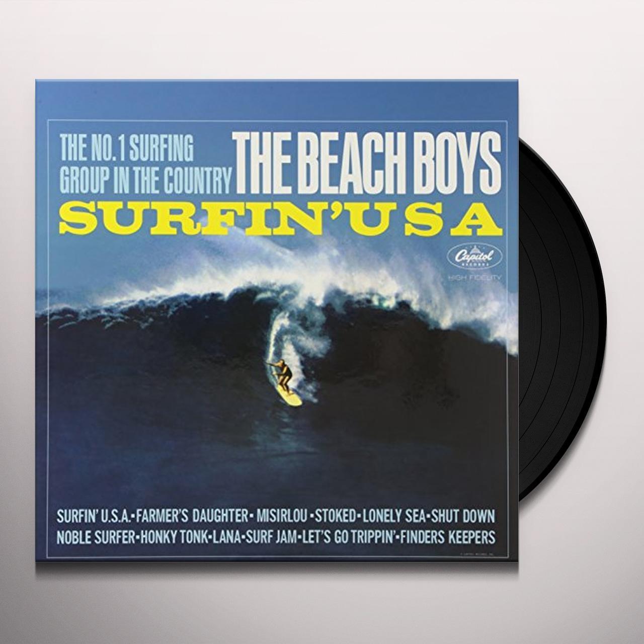 The Beach Boys Surfin Usa Vinyl Record