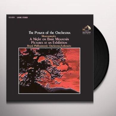 René Leibowitz; Royal Philharmonic Orchestra POWER OF THE ORCHESTRA Vinyl Record