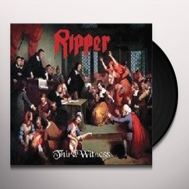 Ripper THIRD WITNESS Vinyl Record