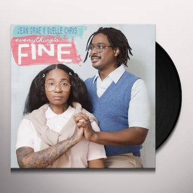 Jean Grae EVERYTHING'S FINE Vinyl Record