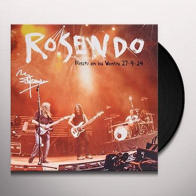 Rosendo DIRECTO LAS VENTAS Vinyl Record