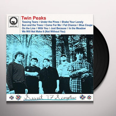Twin Peaks SWEET '17 SINGLES Vinyl Record