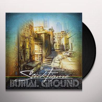 Stick Figure BURIAL GROUND Vinyl Record