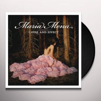 Maria Mena CAUSE & EFFECT Vinyl Record