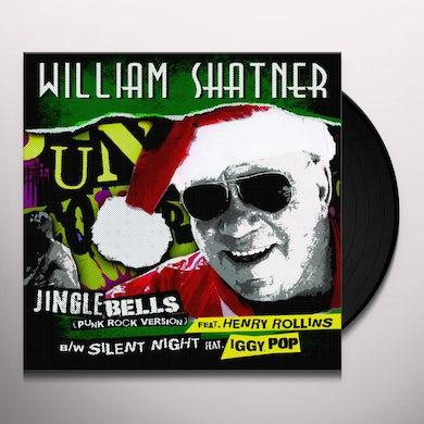 William Shatner JINGLE BELLS (PUNK ROCK VERSION) Vinyl Record