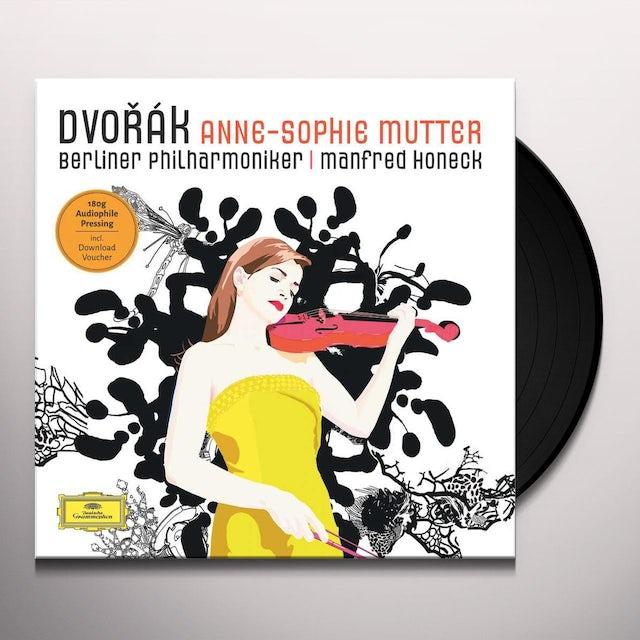 DVORAK / MUTTER / HONECK / BERLINER PHILHARMONIKER VIOLIN CONCERTO Vinyl Record