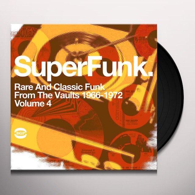 SUPER FUNK 4 / VARIOUS Vinyl Record