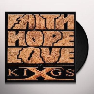 King's X FAITH HOPE LOVE Vinyl Record