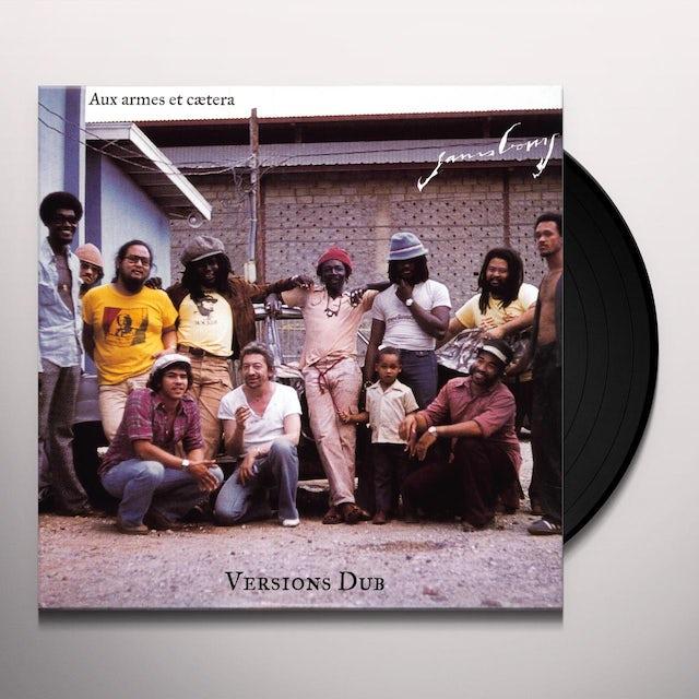 Serge Gainsbourg AUX ARMES ET CAETERA (DUB VERSION) Vinyl Record