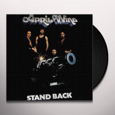 April Wine STAND BACK Vinyl Record