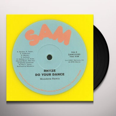 DO YOUR DANCE (MOODENA REMIX) Vinyl Record