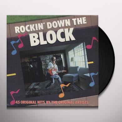 Rockin Down The Block 45 TRACKS-60'S & 70'S Vinyl Record
