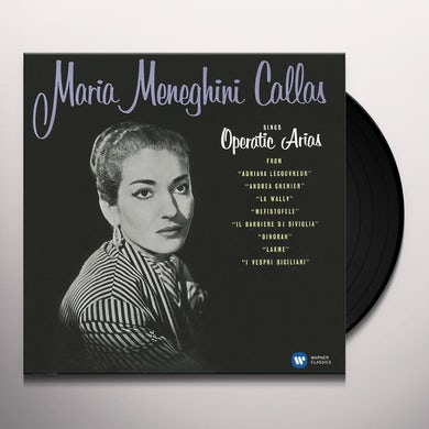OPERATIC ARIAS (LYRIC & COLORATURA) Vinyl Record