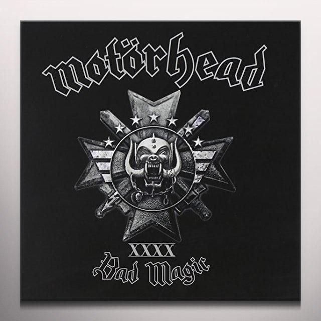 Motorhead BAD MAGIC Vinyl Record - Gold Vinyl, Limited Edition, Picture Disc