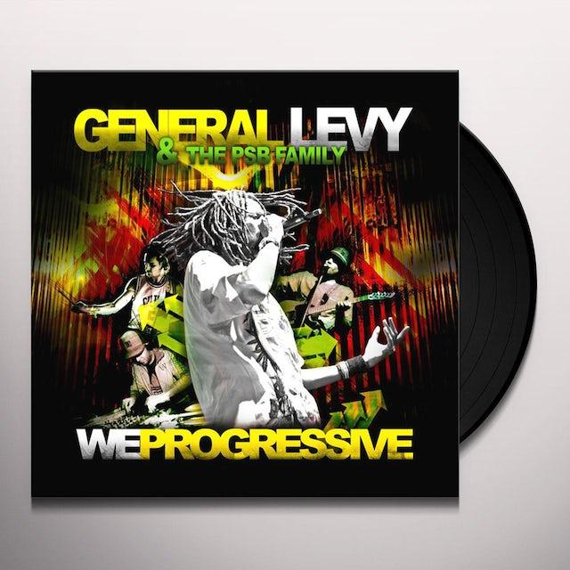 General Levy WE PROGRESSIVE Vinyl Record