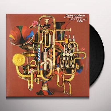 MORE MODERN AT THE GERMAN JAZZ FESTIVAL 1966 / VAR Vinyl Record