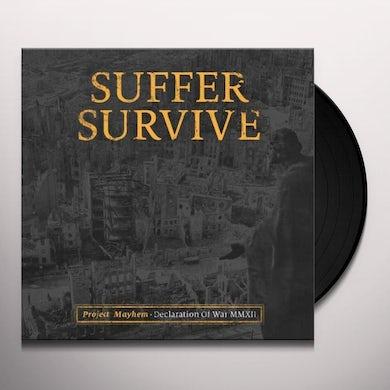 Suffer Survive PROJECT MAYHEM: DECLARATION OF WAR Vinyl Record
