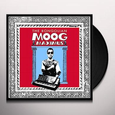 The Bongolian MOOG MAXIMUS Vinyl Record