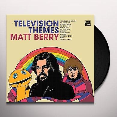 Matt Berry TELEVISION THEMES Vinyl Record