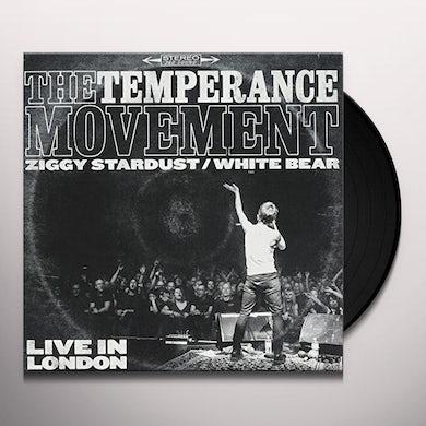 The Temperance Movement ZIGGY STARDUST / WHITE BEAR Vinyl Record
