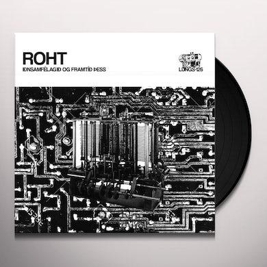 Roht IDNSAMFELAGID OG FRAMTID PESS Vinyl Record