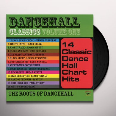DANCEHALL CLASSICS 1 / VARIOUS Vinyl Record