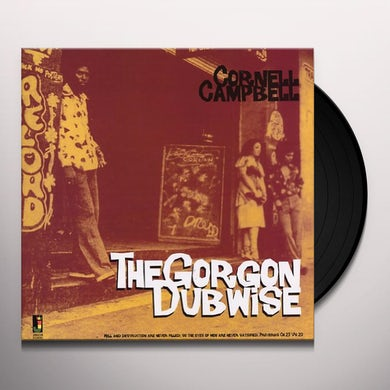Cornell Campbell GORGON DUBWISE Vinyl Record