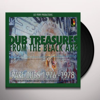 Lee Scratch Perry DUB TREASURES FOR THE BLACK ARK Vinyl Record